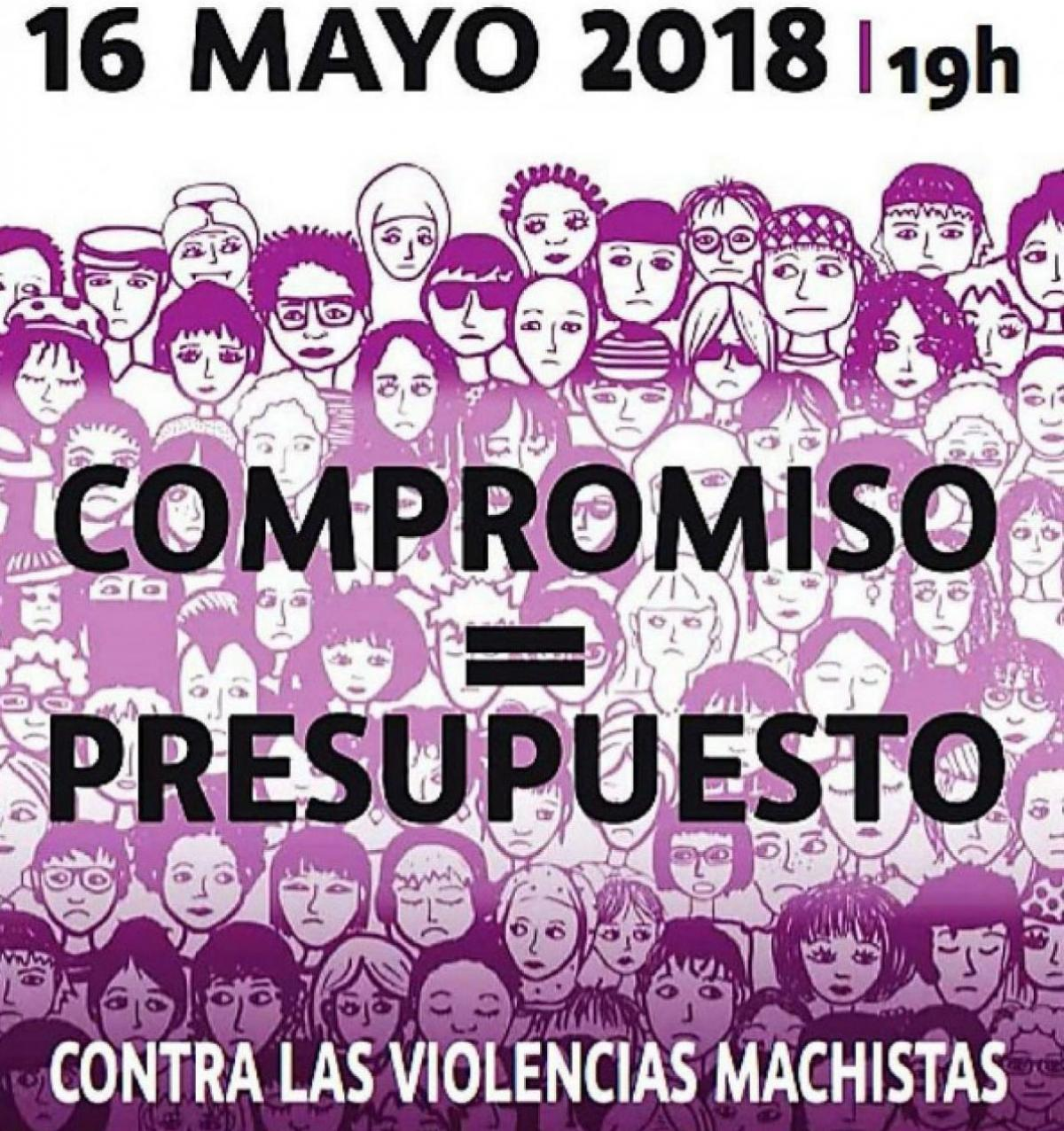Cartel movilizaciones femenistas 16 de mayo