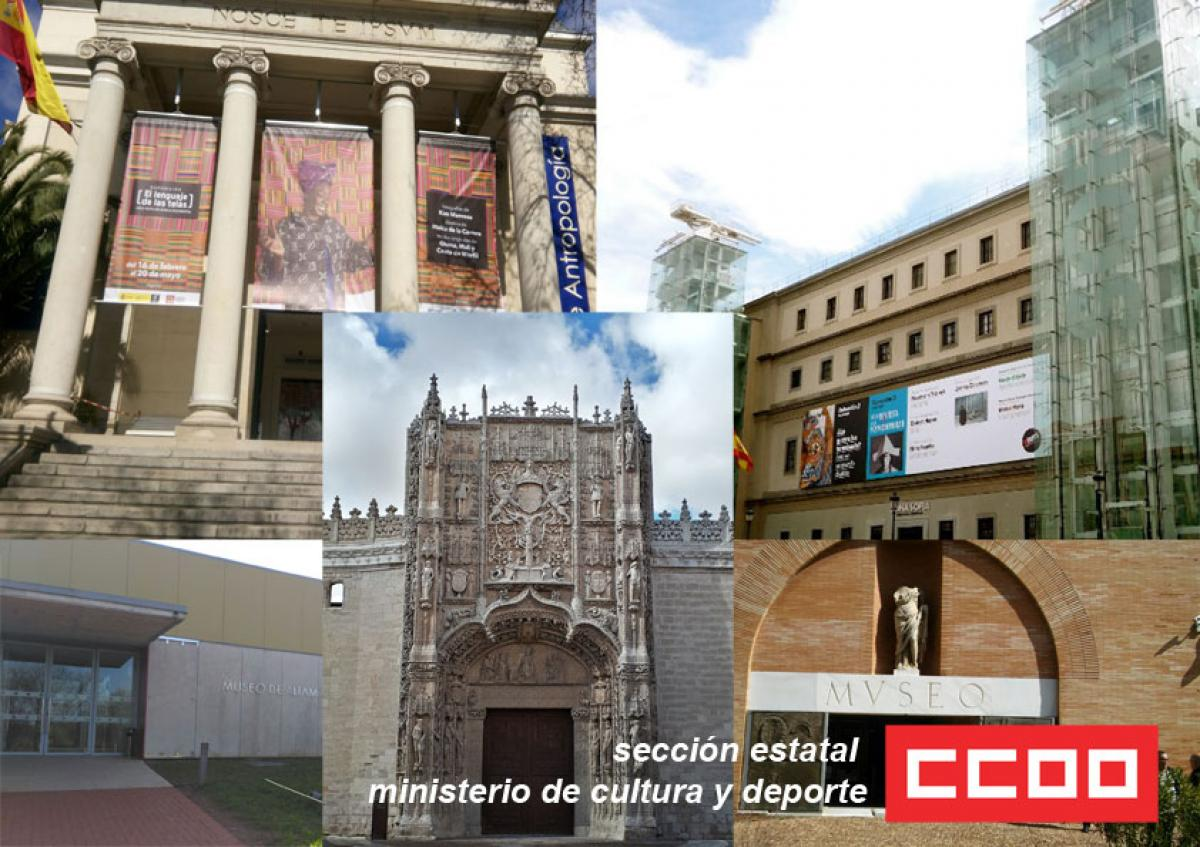 Collage museos estatales
