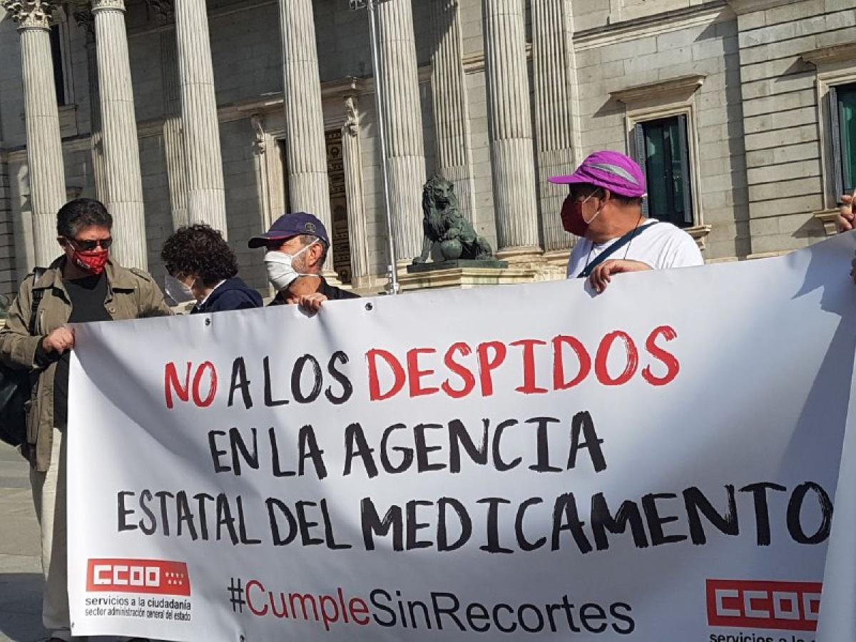 #CumpleSinRecortes. Concentración Madrid 8 oct 2020