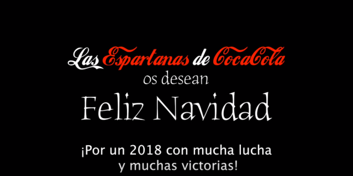 La SSE MAPAMA os desea Felices Fiestas (video de  Las Espartanas)